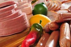 Koud vlees. Stock Fotografie