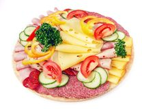 Koud voedsel Stock Foto