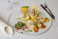 Voorgerecht mexicaanse taco 39 s maistortilla 39 s met guacamole stock foto afbeelding 52845420 - Ma voorgerecht ontwerp ...