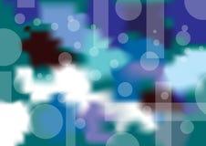 Koude abstracte achtergrond Royalty-vrije Stock Afbeelding