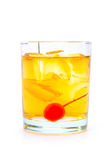 Koude alcoholische cocktail Stock Afbeeldingen