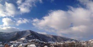 Koude berg Stock Afbeelding