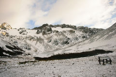 Koude bergen Royalty-vrije Stock Fotografie