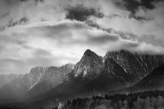 Koude bergen Stock Afbeeldingen