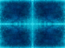 Koude blauwe grungeachtergrond Royalty-vrije Stock Fotografie