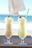 Koude cocktails voor twee Royalty-vrije Stock Foto