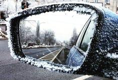 Koude dag in Boekarest Roemenië Stock Afbeeldingen