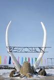 Koude deamon Stock Foto's