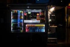 Koude drankenvrachtwagen Royalty-vrije Stock Afbeeldingen