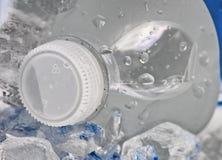 Koude fles water Royalty-vrije Stock Foto