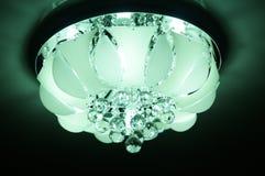 Koude lichte kroonluchter Royalty-vrije Stock Afbeelding