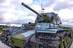 Koude oorlog Russische tank Stock Afbeeldingen