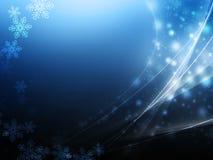 Koude sneeuwachtergrond Stock Foto
