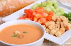 Koude soep Stock Foto's