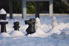 Koude Spelen 4 van het Schaak Royalty-vrije Stock Afbeeldingen