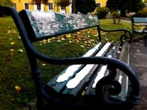 Koude stoel Stock Foto's