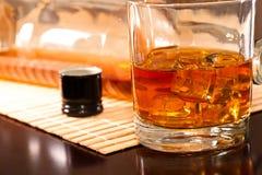 Koude whisky Royalty-vrije Stock Afbeeldingen