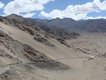 Koude Woestijnbergen Stock Foto's