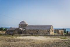 Kouklia, район Paphos/Кипр - январь 2019: Церковь Panagia Katholiki стоковая фотография rf