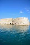 Koules城堡,伊拉克利翁 库存图片