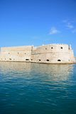Koules castle, Heraklion. View of Koules castle in the harbour, Heraklion, Crete, Greece, Europe Stock Image
