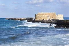Koules fort in Heraklion Royalty Free Stock Images