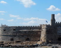 Koules Fortress In Heraklion Greece Royalty Free Stock Photos