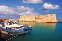 Koules fortress The Venetian Castle of Heraklion in Heraklion city, Crete island Stock Image