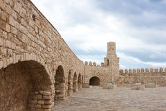 Koules Venetian Fortress. In Heraklion city, Crete, Greece Stock Images