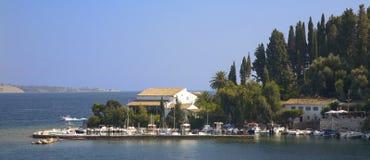 Kouloura Corfu fotos de stock