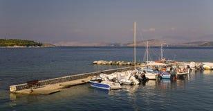 Kouloura Korfu stockfotografie