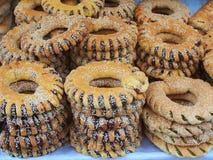 Koulouria Bread Rings Stock Photos