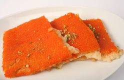 Kounafa Arab dessert Stock Photography
