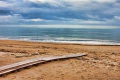 Kounoupelaki beach Stock Photos