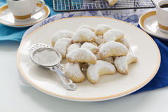 Kourabiedes Royalty Free Stock Image