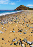 Kouremenos-Strand in Kreta, Griechenland Lizenzfreie Stockfotografie