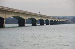 Kouri Ohashi Bridge. In Okinawa Stock Photos