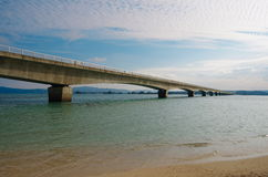 Kouri Ohashi Bridge Royalty Free Stock Photos