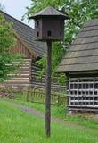 KOURIM - 5月24日:传统鸽房从17世纪 2014年5月24日 图库摄影