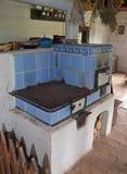 KOURIM - 5月24日:村庄房子内部从17世纪 免版税库存照片