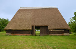KOURIM - MAY 24: Traditional barn from the 17th century Royalty Free Stock Photo
