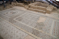 Kourion考古学地区 免版税库存照片