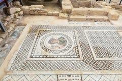 Kourion考古学站点在塞浦路斯 免版税库存图片