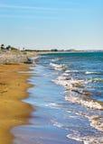 Kourion (Agios Hermogenis) beach Stock Images