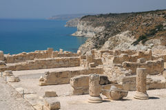 Kourion antique Photographie stock