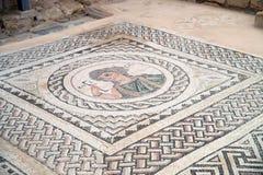 Kourion archeologisch gebied Stock Afbeeldingen
