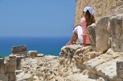 Kourion Cypern Royaltyfri Fotografi