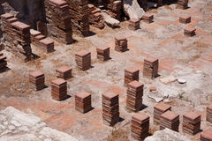 KOURION, CYPRUS/GREECE - 24-ОЕ ИЮЛЯ: Остатки на древнем городе o Стоковые Изображения RF