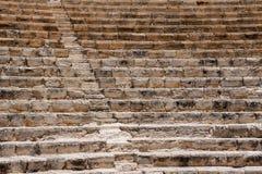 KOURION, CYPRUS/GREECE - LIPIEC 24: Wznawiający ampitheatre w Fotografia Royalty Free
