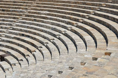 Kourion's Greco-Roman theatre Royalty Free Stock Photography